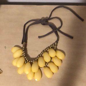 Anthropologie tie necklace
